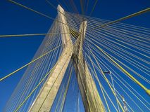 Cable-stayed bridge in the world Stock Images