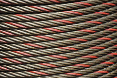 Cable Steel Line Punctuate Stock Images