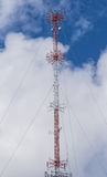 Cable Supported Communications Tower Royalty Free Stock Images