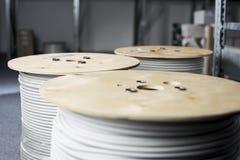 Cable-tambor imagenes de archivo