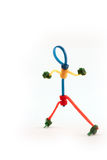 Cable Tie Man Stock Image