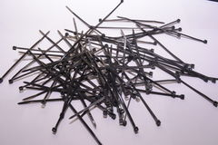 Cable tie Stock Image