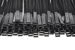Cable ties Royalty Free Stock Images