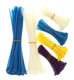 Cable ties Stock Images