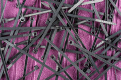 Cable ties Royalty Free Stock Photo