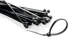 Cable ties Stock Image
