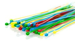 Cable ties Royalty Free Stock Image