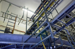 Cable Trays Royalty Free Stock Images