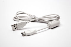 cable usb Obraz Stock