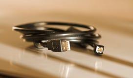 cable usb fotografia stock