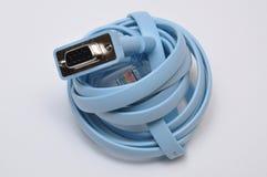 Cable UTP de la red Imagenes de archivo
