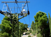 Cable-way Royalty Free Stock Photography