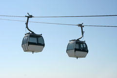 Cable-way Royalty Free Stock Photos