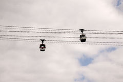 Cable way in Cologne Royalty Free Stock Photos