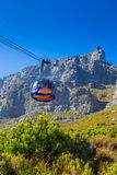 Cable way up to Table Mountain Stock Photos