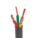 Cable wire Stock Photography
