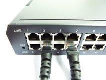 Cable y eje Imagen de archivo libre de regalías