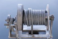 Cable y engranajes Imagen de archivo libre de regalías