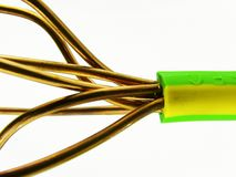 cable2接地 免版税库存图片
