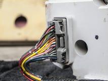 Cableado eléctrico imagen de archivo libre de regalías
