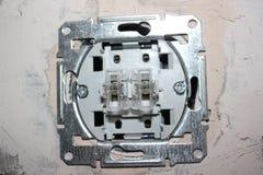 Cableado eléctrico foto de archivo