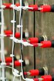 Cableado eléctrico del panel Fotografía de archivo