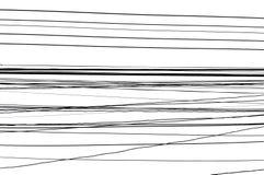 Cableado eléctrico en el fondo blanco fotos de archivo