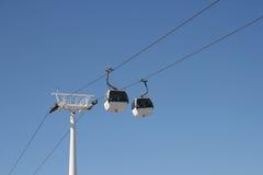 cablecar панорамный Стоковое фото RF