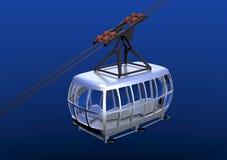 cablecar 3d Стоковая Фотография RF