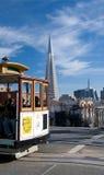 cablecar francisco san Royaltyfri Foto