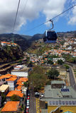 Cablecar, Madeira island, Portugal Stock Photography