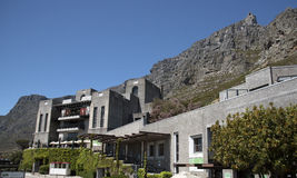 Cablecar station Cape Town South Africa Stock Photo