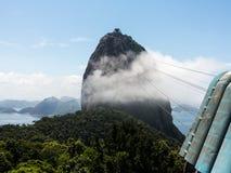 Cablecar to Sugarloaf Mountain Rio de Janeiro Brazil Stock Photo