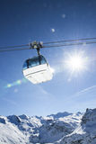 Cablecar to Val d'Isere, Stock Photography