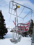 Cablecarril del invierno Fotografía de archivo libre de regalías
