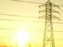Cables électriques Photos stock