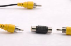 Cables Imagen de archivo