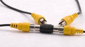 Cables Imágenes de archivo libres de regalías