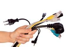 Cables fotos de archivo