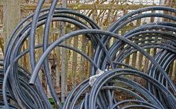 Cables fotografía de archivo