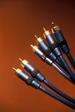 Cables 2 de la TV Fotografía de archivo libre de regalías