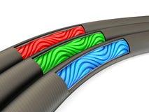 Cables ilustración del vector