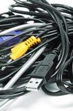 Cables fotos de archivo libres de regalías