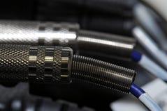 Cables audios Fotos de archivo libres de regalías
