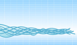 Cables background Royalty Free Stock Image
