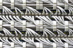 Cables Background Royalty Free Stock Images