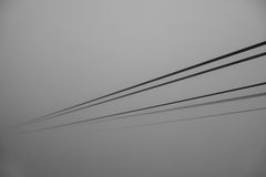 Cables cable car. Stock Photography