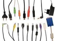 Cables collection stock photos