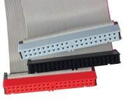 cables computer connectors dri hard ribbon Στοκ εικόνα με δικαίωμα ελεύθερης χρήσης