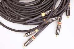 Cables de audio y vídeo del grupo Imagenes de archivo